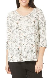 Evans Plus Size Women's Swallow Print Tee