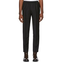 Harmony Black Mohair Paolo Trousers
