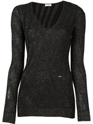 Sonia Rykiel V Neck Jumper Black
