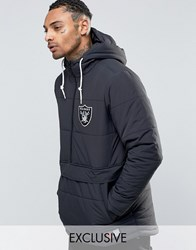 Majestic Raiders Padded Overhead Jacket Exclusive To Asos Black