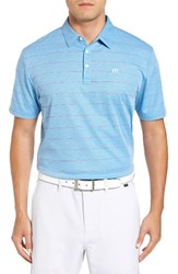 Travis Mathew Men's Pallis Trim Fit Wrinkle Resistant Polo