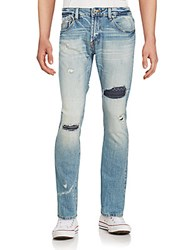 Cult Of Individuality Distressed Washed Jeans Dove