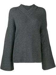 Nanushka Mello Chunky Jumper Grey