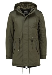 Minimum Wexford Parka Dark Green Oliv