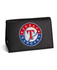 Rico Industries Texas Rangers Trifold Wallet Black