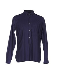 Covert Shirts Dark Purple