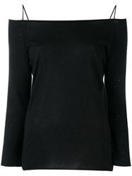 Fabiana Filippi Off The Shoulder Jumper Black