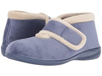 Foamtreads Magdalena Blue Women's Slippers