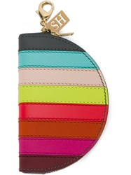 Sophie Hulme Stripe Coin Purse