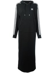 Adidas Originals Hooded Sweater Dress Black