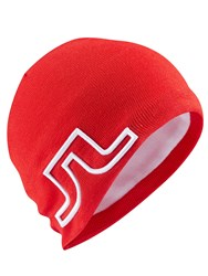 J Lindeberg Golf Acrylic Mix Beanie Hat Coral