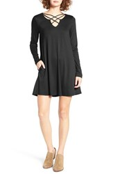 Socialite Women's Crisscross Front Dress