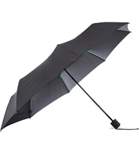 Fulton Hurricane Small Umbrella Black