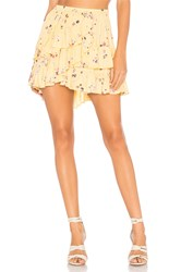 Auguste Desert Dandelion Grace Mini Skirt Yellow