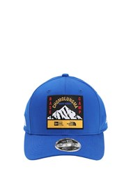 New Era North Face X Baseball Hat Blue