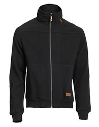 Jeep Full Zip Sweatshirt Black