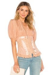 Icons Corset Top Pink