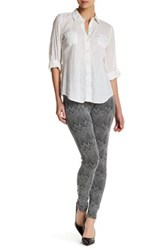 Lysse Seamed Ponte Knit Control Top Legging Gray