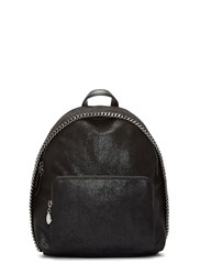 Stella Mccartney Falabella Shaggy Deer Mini Backpack Black