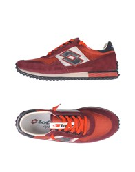 Lotto Leggenda Sneakers Garnet