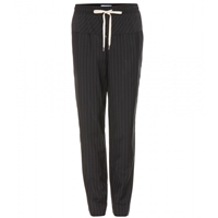 Alexander Wang Wool Trousers With Elasticated Waist Jet