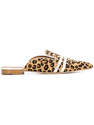 Malone Souliers Hermione 2 Slippers Nude And Neutrals