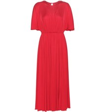 Valentino Jersey Dress Red