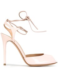 Gianvito Rossi Muse Sandals Pink And Purple