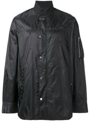 Diesel Black Gold Rainproof Bomber Jacket Black