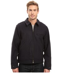 Filson Mackinaw Work Jacket Navy Men's Coat