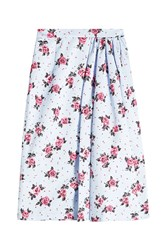 Alessandra Rich Printed Skirt Florals