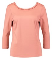Vila Vibraided Long Sleeved Top Rose Dawn