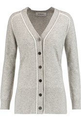 Derek Lam 10 Crosby By Cashmere Cardigan Gray