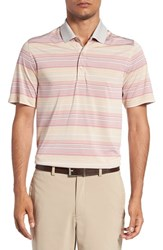 Cutter And Buck Men's 'Reprieve' Stripe Polo Shirt