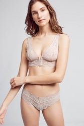 Anthropologie Clo Intimo Fortuna Low Rise Bikini Pink