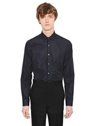 Lanvin Cotton Poplin Shirt With Piping Detail
