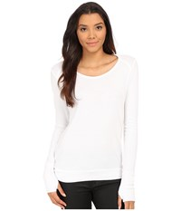 Lamade Thermal Top With Thumbholes White Women's Sweater