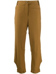 Rejina Pyo Leon Trousers Brown