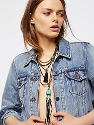 Free People Sun Ceremony Layered Necklace By