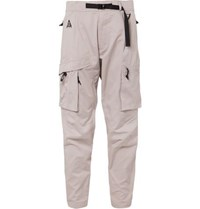 Nike Acg Tapered Cotton Blend Cargo Trousers Beige