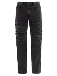 Y Project Mid Rise Tiered Jeans Black