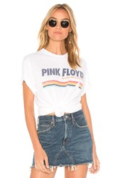 Junk Food Pink Floyd Dark Side Of The Moon Tee White