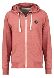 Billabong All Day Tracksuit Top Red Clay