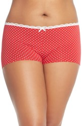 Plus Size Women's Nordstrom Cotton Blend Boyshorts 3 For 25
