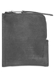 Rick Owens Zipped Leather Wallet