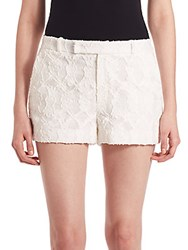 Prose And Poetry Ella Board Lace Shorts White