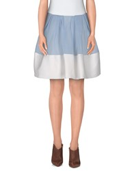 Silvian Heach Skirts Mini Skirts Women Sky Blue