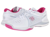 Wilson Nvision Elite White Pearl Gray Women's Tennis Shoes