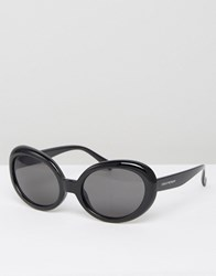 Cheap Monday Kurt Cat Eye Sunglasses In Black Black