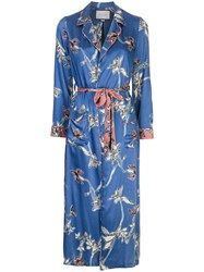Alexis Barbosa Robe Blue